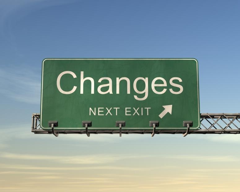 Roadsign Changes next exit